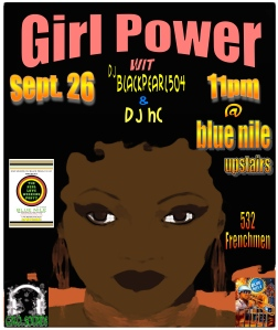 girl Power @ blue nile Sept.26